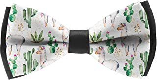 Mens Classic Pre-Tied Satin Formal Tuxedo Adjustable Bowtie(Little Girls Unicorn)