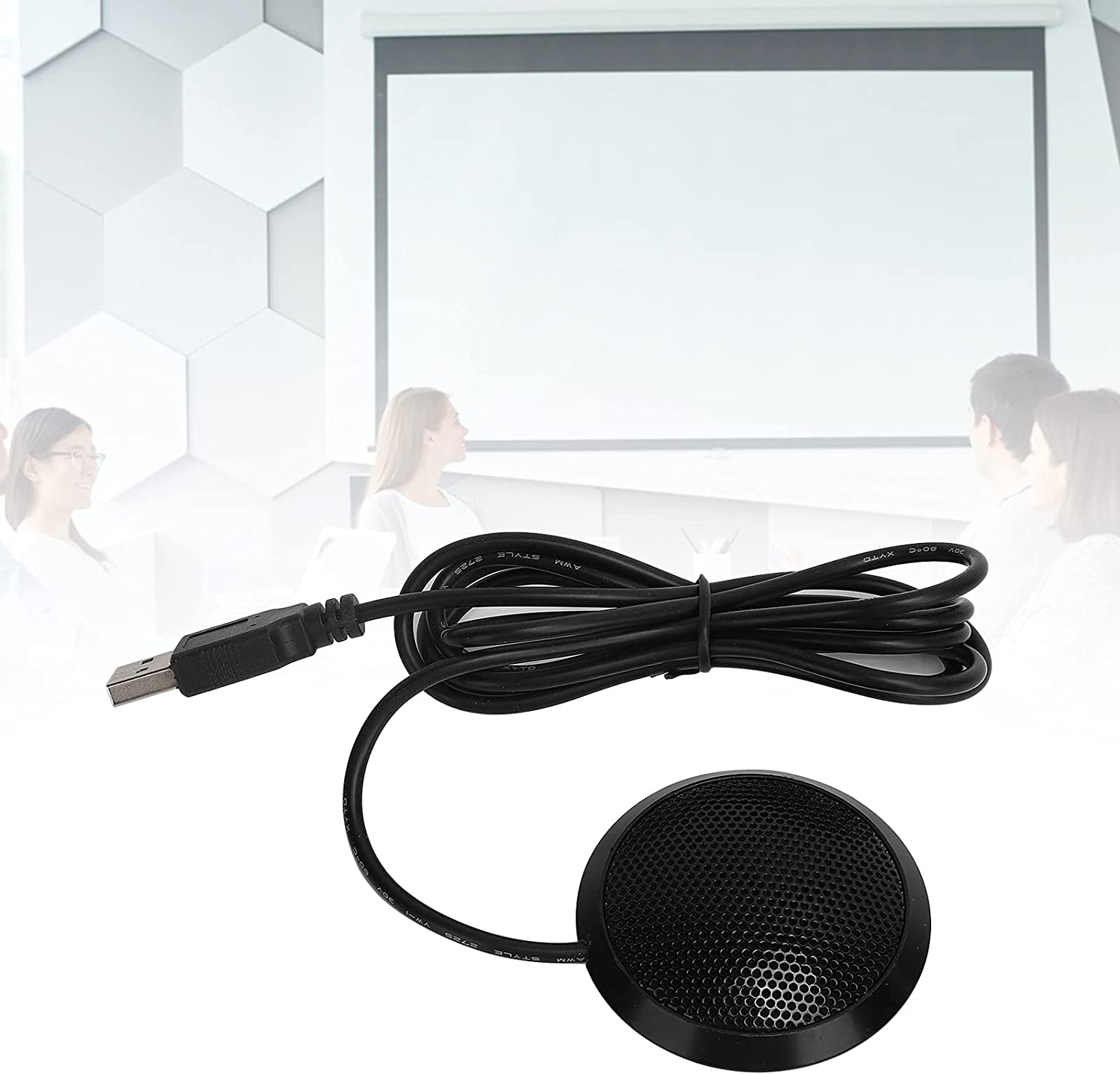 FEBT USB Microphone 360 Degree 4 years warranty Don't miss the campaign Plug Omnidirectional Mic Pickup