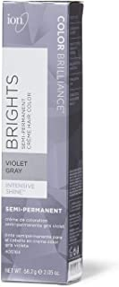 Ion Violet Gray Semi Permanent Hair Color Violet Gray