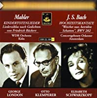 Schwarzkopf: Bach Mahler by MAHLER / BACH