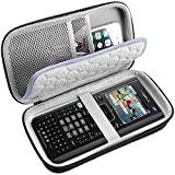 PAIYULE Travel Case for Texas Instruments Ti Nspire CX CAS/II/Ti-84 Plus CE Graphing Calculator, Large Capacity for Pens, Cables and Other Accessories -Black (Box Only)