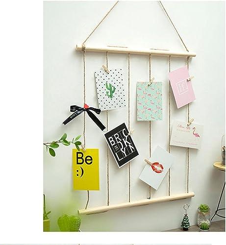 la mejor selección de BKPH Cuerda de Cáñamo + Colgante de de de decoración de Parojo de Madera Dormitorio Sala de Estar decoración de la Parojo  auténtico