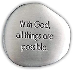 Cathedral Art God (Abbey & CA Gift) Possible Soothing Stone, 1-1/2-Inch (SS130)