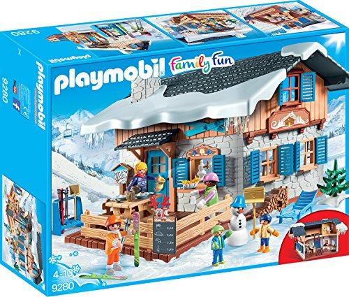 PLAYMOBIL Family Fun 9280 Skihütte, Ab 4 Jahren
