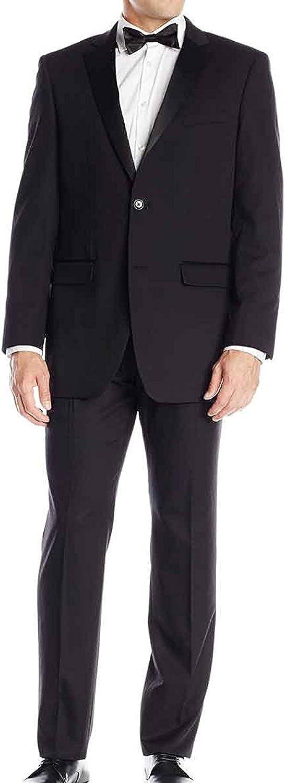 LP-FACON Men's 2 Milwaukee Mall Button Black Tuxedo New Shipping Free Shipping Sale for