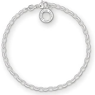 Thomas Sabo Women Charm Bracelet Classic Charm Club 925 Sterling Silver X0163-001-12