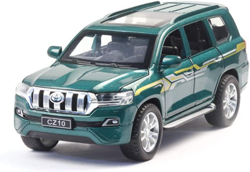 ZHGY 1:32 Diecast Model Car for Simul Wheels At the price Sale SALE% OFF Metal Toy Prado