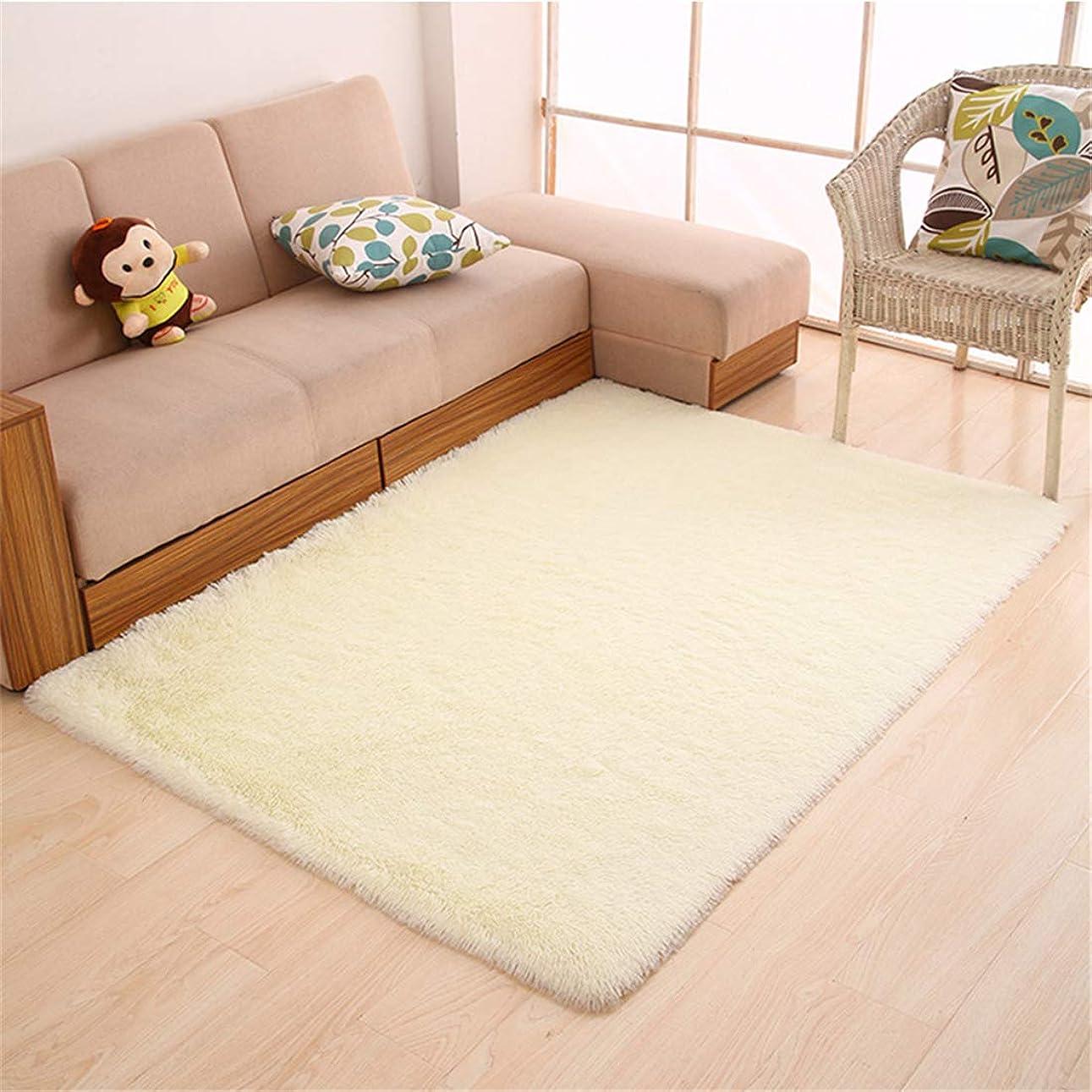 シェトランド諸島換気する活力ネイビー 絨毯 子ども部屋ラグ 現代のシンプルさ 50x80cm 長方形 厚手のシルクヘアーリビングルームのコーヒーテーブルの寝室のベッドサイドのカーペットのバスルーム滑り止めマットヨガマット畳クロールマット 虹 ラグ