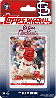 St Louis Cardinals 2019 Topps Factory Sealed Special Edition 17 Card Team Set with Adam Wainwright and Yadier Molina Plus