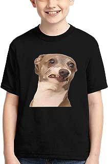 Kermit-Dog Tops Fashion Children's T-Shirt Graphic Short Sleeve Shirt Tees Boys Girls