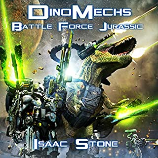 DinoMechs: Battle Force Jurassic audiobook cover art