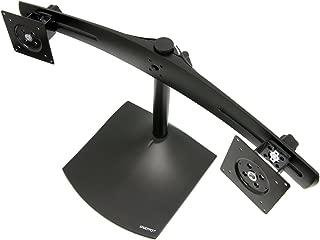 ERGOTRON 33-322-200 (055) ERGOTRON 33-091-200 DS100 Dual-Monitor Desk Stand, Vertical (black)