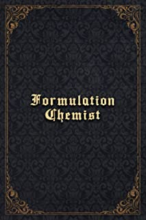 Formulation Chemist Notebook Planner - Formulation Chemist Job Title Working Cover To Do List Journal: 6x9 inch, Budget Tr...