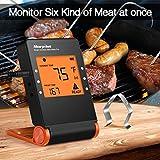 Zoom IMG-1 morpilot termometro cucina bluetooth 4