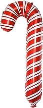 Gujugm Opblaasbare Candy Cane Kerst Wandelstok Wandelstok Cane Aluminium Film Ballon Vakantie Party Decoratie Scène Decora...