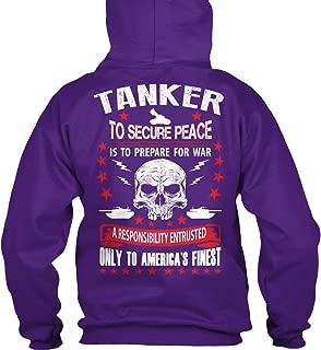 teespring Men's Tanker to Secure. - Sweatshirt - Gildan 8Oz Heavy Blend Hoodie
