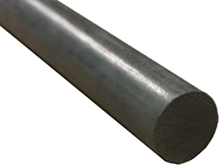 "60/"" Length x 3//8/"" Diameter - Natural Extruded Nominal Nylon 6//6 Round Rod"