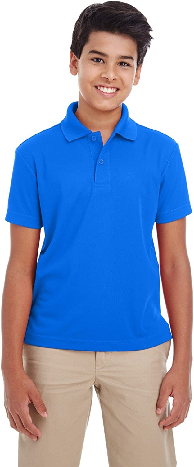 Ash City C3 Youth ORGN PERF Pique Polo