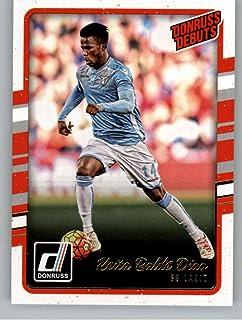 2016-17 Donruss Debuts Soccer #228 Keita Balde Diao SS Lazio Official Futbol Trading Card From Panini America