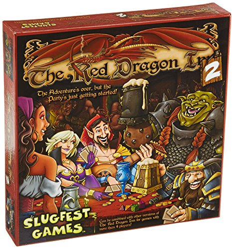 Red Dragon Inn 2 Red Dragon Exp., Stand Alone Boxed Card Game