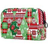 Bolsa de cosméticos para mujeres, regalo de Navidad y caballo, bolsas de maquillaje, accesorios organizadores regalos