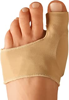 Dr. Frederick's Original Bunion Sleeves - 2 Pieces - Bootie Bunion Cushions - Gel Pad Bunion Relief Splint for Women & Men - Small - W5-6.5 | M4.5-6