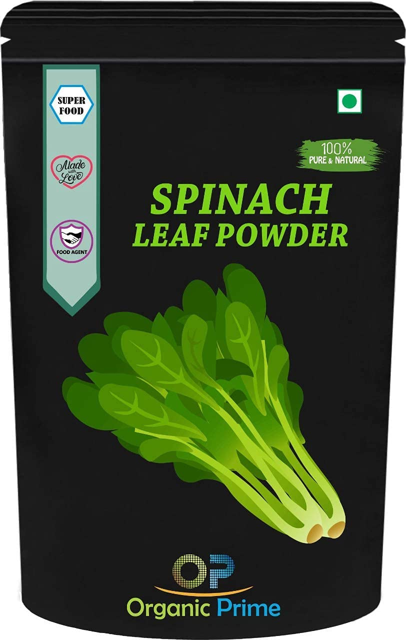 Lendom Organic Prime NEW before selling ☆ Free shipping Green Spinach Powder Palak Powd Leaf
