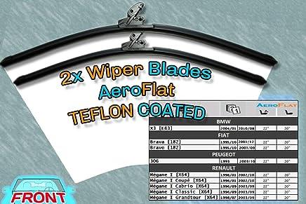 [S950/22/20] DoradoTuning Escobillas de limpiaparabrisas Aero Style/Kit -