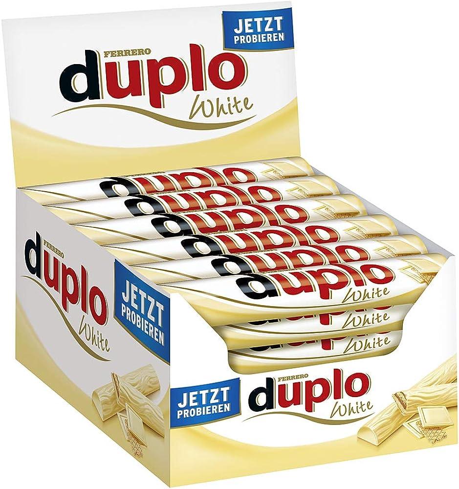 Ferrero, duplo bianco goffratura 18 g , set di 40 pezzi