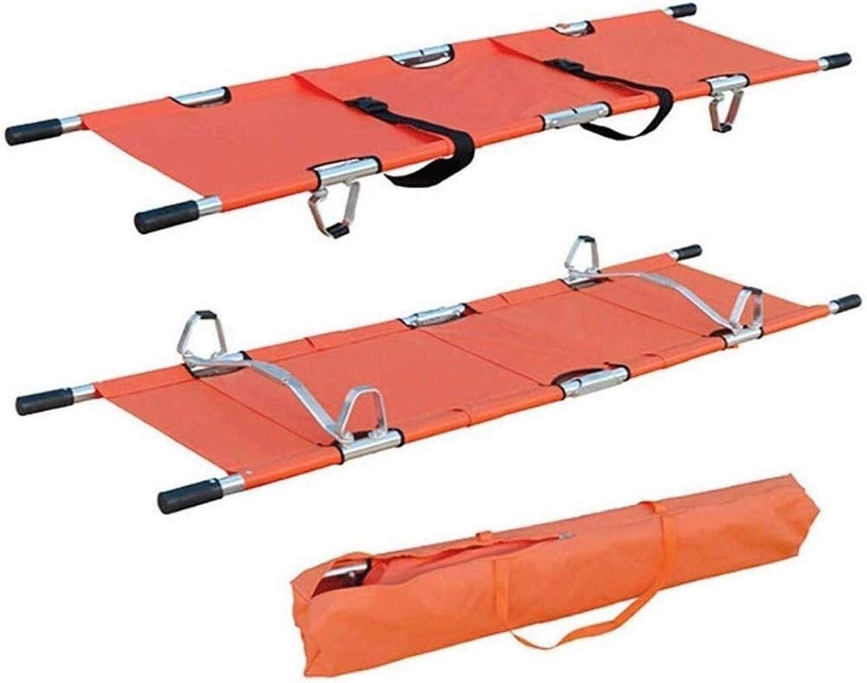 TONGSH Portable Emergency Folding Stretcher Medical Stretcher -