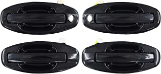 NewYall Set of 4 Front Rear Left and Right Side Exterior Door Handles