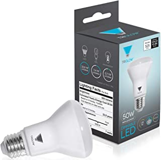 TriGlow LED 7-Watt (50W Equivalent) BR20 Bulb, DIMMABLE 525 Lumen, UL Listed and Energy Star Certified (5000K (Daylight), 1-Pack)