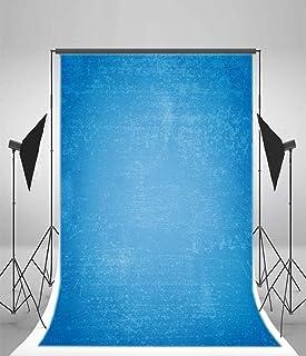 GooEoo ビニール5×7フィート写真の背景平野青い壁紙の背景パーソナルアート肖像画撮影ビデオスタジオ1.5×2.2メートル