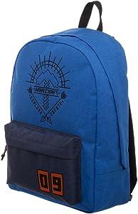 Blue Minecraft Backpack Minecraft Explore Create Bag