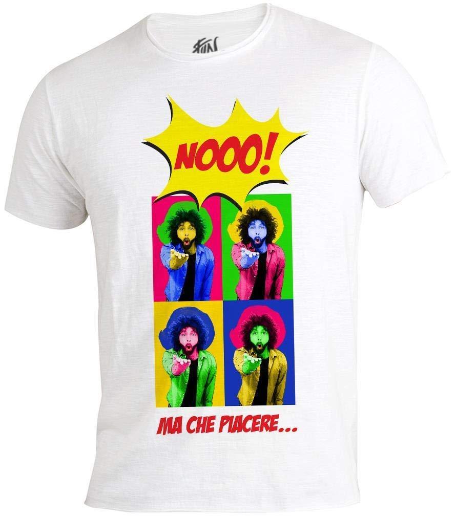 RTI – nooo. Ma Che Piacere Camiseta Colorado, Warhol style, Hombre, de talla M: Amazon.es: Juguetes y juegos