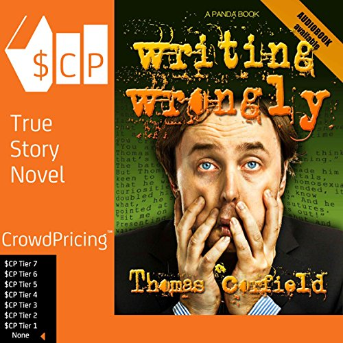 Writing Wrongly audiobook cover art