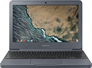 Samsung Chromebook Laptop Computer 2019 11.6 inch HD Screen Notebook ,Intel Celeron N3060, 4GB RAM, 32GB EMMC, 128GB SD Card, No DVD, HDMI, USB 3.0, Bluetooth, Webcam, Wi-Fi, Chrome OS