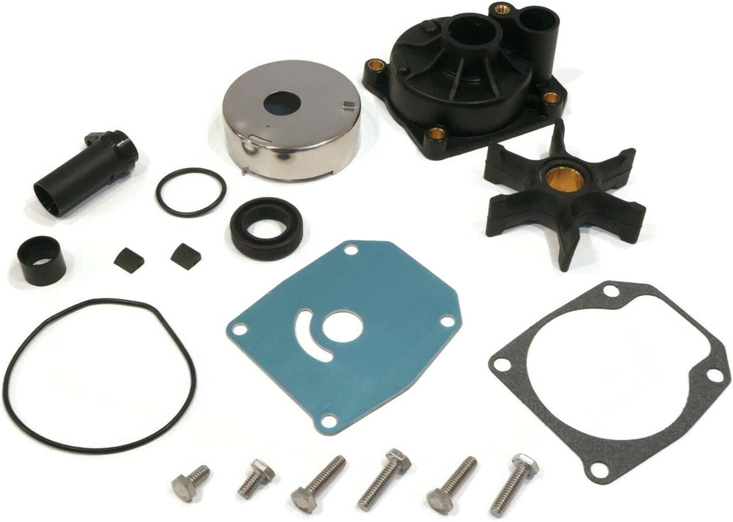 The ROP Shop Water Pump Kit for J Limited price Evinrude 1998 60 HP Max 80% OFF Johnson