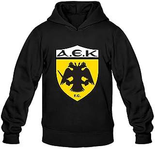 Mens Aek Athens Logo Render Custom O Neck Hoddie By Mjensen