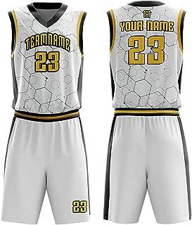 Youth&Men's Custom Basketball Jerseys Set Full Sublimated Sportswear Team Name,Number,Logo