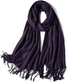 Womens Large Soft Cashmere Feel Pashmina Shawls Wraps Winter Scarf SC304 S306