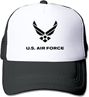 Air Force Symbol Adult Driver Mash Headgear
