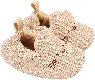 Gespout, Creativos Lindos Hombres y Mujeres Zapatos de Punto de Bebé Calcetines Cálidos al Aire Libre de Otoño e Invierno