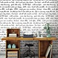 RoomMates RMK9006WP Dream Big Script Peel and Stick Wallpaper
