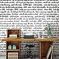 RoomMates RMK9006WP Dream Big Script Peel and Stick Wallpaper