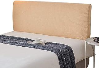 HDGZ Cubierta De Cabecera Elástica Protector Cubierta De Cabecero De Cama Protector Funda Protectora para La Decoración del Dormitorio (Color : Beige, Size : 1.5m)