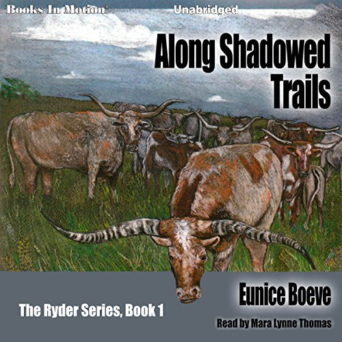 Along Shadowed Trails audiobook cover art