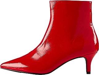 Amazon.es: Leopardo Zapatos Botas Zapatos para mujer
