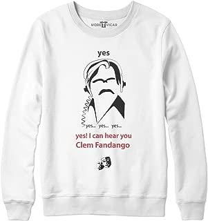 More T Vicar Women's Yes Yes Yes I Can Hear You Clem Fandango - Toast of London Sweatshirt