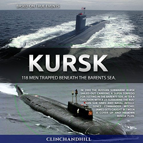 Kursk audiobook cover art